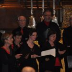 De solisten tijdens Tantum Ergo